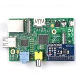 I2C-Repeater auf Raspberry-PI aufgesteckt