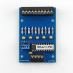 analoge SPS-Eingangskarte zum Erweitern des Raspberry-PI