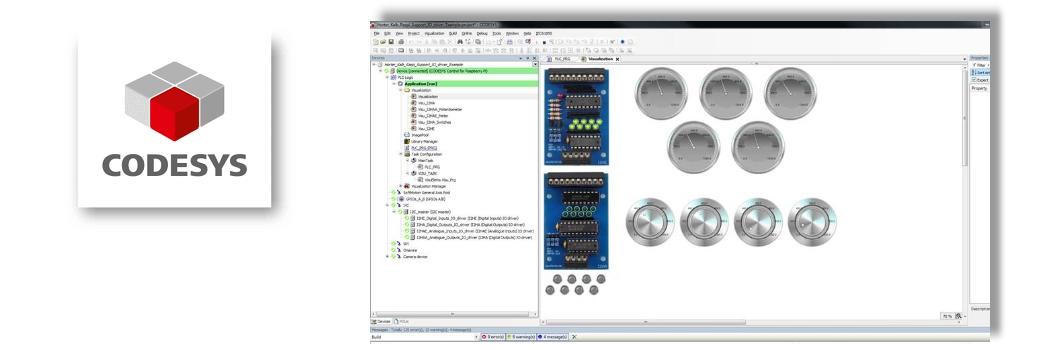 CodeSYS Programmieren und am PI Testen
