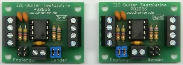 I2C-Buffer für längere I2C-Busleitungen